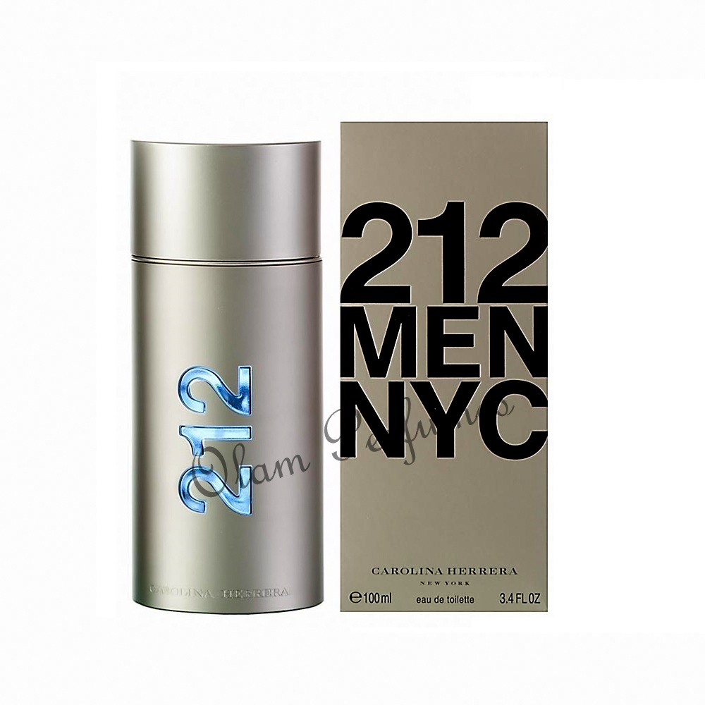 212 For Men Eau De Toilette Spray 3.4oz 100ml